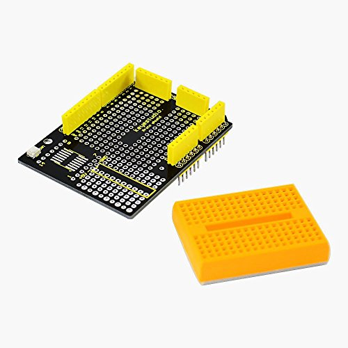 Keyestudio protoshield Arduino mini breadboard