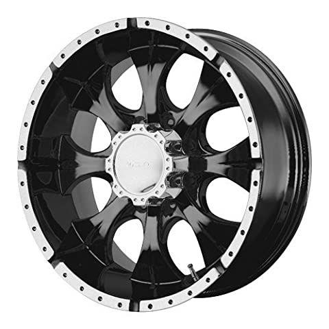 Helo HE791 Maxx Gloss Black Wheel With Machined Face (17x9