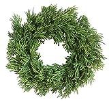 Creative Co-Op XM2765 10 Inch Artificial Cedar Wreath, Green