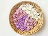 TH Mixed Purple White Flowers Embellishment with