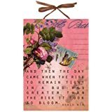 Papaya Anais Bloom -Art Panel AB0174,