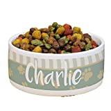 GiftsForYouNow Heart Paw Personalized Pet Food Bowl Review