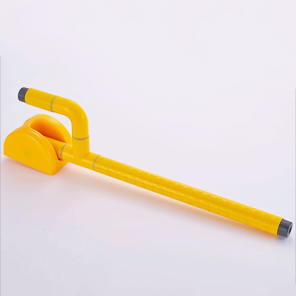 Elderly toilet armrests Accessible bathroom foldable overturned safety handrail with spring ( Color : Yellow ) by LI SHI XIANG SHOP (Image #3)