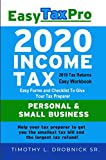 Easy Tax Pro 2020: Easy Tax Workbook for 2019 Tax Returns (Easy Tax Pro LLC 1)