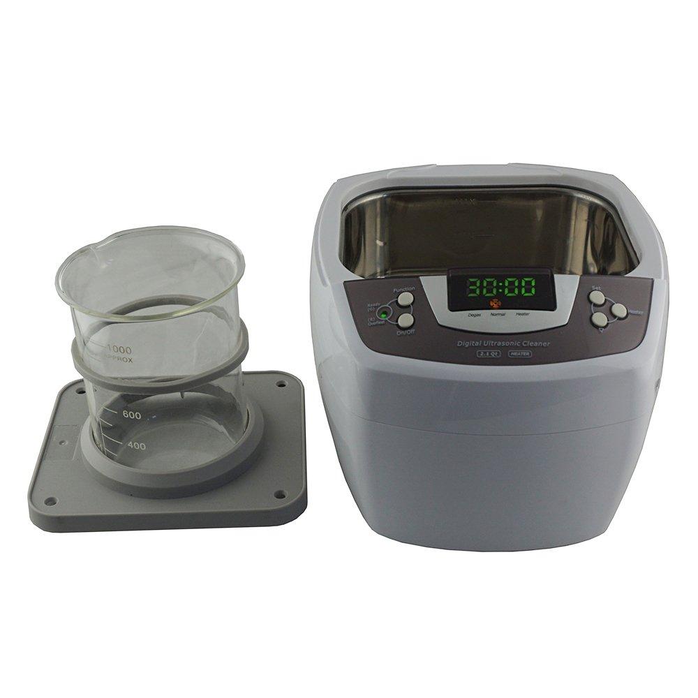 iSonic Ultrasonic Cleaner P4810, 2.1Qt/2 L, with 1000 ml Single Beaker Holder Set for DIY Liposomal Vitamin C by iSonic (Image #3)