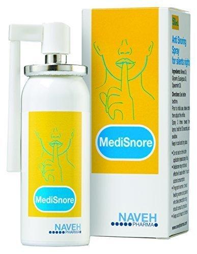 Medisnore Anti Schnarch Spray von Naveh mit deutscher Gebrauchsanweisung by BLISSANY, Schnarchstopper, gegen Schnarchen