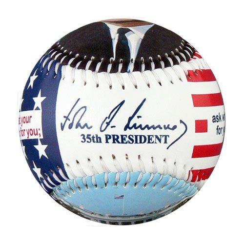 President John F. Kennedy Souvenir Baseball EnjoyLife Inc