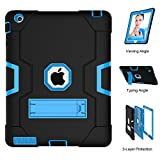 iPad 2 Case, iPad 3 Case, iPad 4 Case, UZER Heavy Duty Shockproof