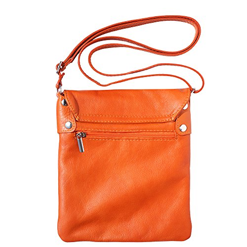 414 Orange sac à petit bandoulière qxtaBIT