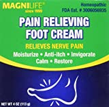 Best Cream For Relieving - MagniLife Pain Relieving Foot Cream 4 oz Review