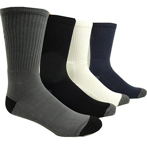 Men's Bamboo Sport Socks (2 Pairs) (Black) SoxShop