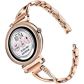Amazon.com: Compatible for Michael Kors Sofie Band, Blueshaw ...
