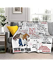 """SUFEI Blanket Super Soft Warm Solid Blanket Sofa Bedding Blanket Flannel Bed Sofa and Living Room for Kids Adults 50""""X40"""" in"""