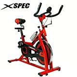 Xspec Pro Stationary Upright Exercise Bike, Cardio Indoor Cycling Bicycle, with Pulse sensors, 30Lb Flywheel, Cardio Fitness Cycling Machine Gym Workout Training Stationary Bike