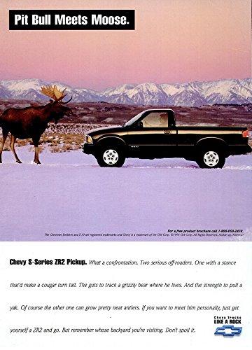 S10 Series (1994 CHEVROLET S-SERIES S-10 ZR2 PICKUP TRUCK