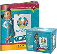 2020 Panini Euro Preview Stickers - Box & Album Set (Total of 306 Stick