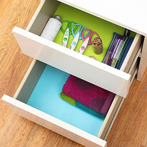 Eva Cabinet Drawer Liner Bright Colored Shelf Liner Non