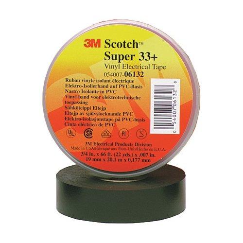 Scotch T96403310PK 33+ Electrical Tape, 3/4