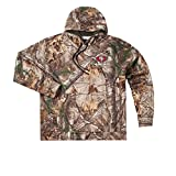 NFL San Francisco 49ers Adult Champion Realtree Xtra Polyester Tech Fleece Pullover, X-Large, Camo