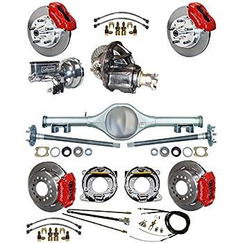 drum brakes 1967 Pontiac Firebird Master Brake Rebuild Kit