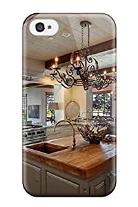 Iphone 4/4s Case Cover Skin : Premium High Quality Open Eclectic Kitchen With Gorgeous Ocean View Case