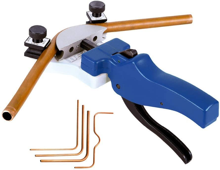 5//16 8 SKYTOU Tube Bender Set 5 10 12mm Refrigeration Tools 6 3//8 Manual Tube Bending Tool Kit Copper Pipe Tubing Bender with 90 Indicator Feature Multi Size for 1//4 1//2 Inch