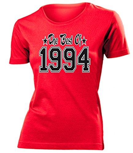 THE BEST OF 1994 - DELUXE - Birthday mujer camiseta Tamaño S to XXL varios colores Rojo