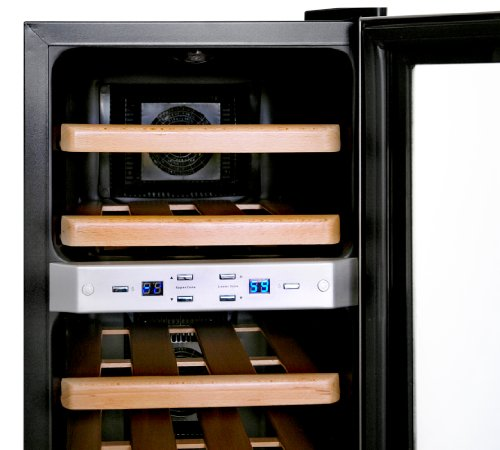 new air dual zone wine cooler - 3