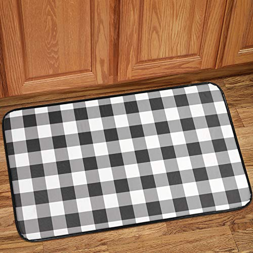 Kitchen Collection Print - Sweet Home Collection Kitchen Floor Mat Memory Foam Anti Fatigue Durable Non Skid Rug for Long Standing Comforter, 30