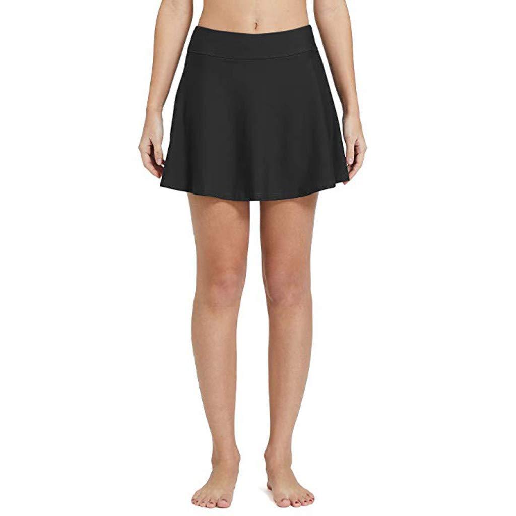 Benficial Women Bikini Bottom Tankini Swim Skirt PlusSize Short Beach Dress Swimwear Pants 2019 Summer