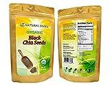 Organic, Fresh Chia Seeds, Premium (Black) - Superfood, Antioxidant, Raw, Non-GMO, Pesticide-Free (3 lbs)