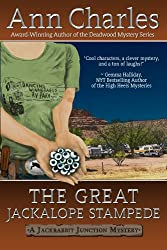 The Great Jackalope Stampede (Jackrabbit Junction Humorous Mystery Book 3)
