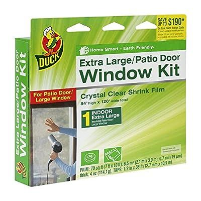 Duck Brand Indoor Window Shrink Film Insulator Kit, (2 Pack Of 10-Window-)