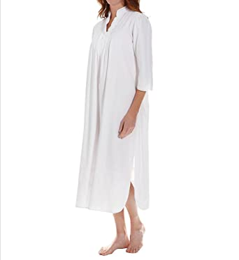 Thea Virginia Fine Brushed Cotton Flannel Gown (8090) at Amazon Women s  Clothing store  Nightgowns a2e767b02