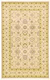 Unique Loom Edinburgh Collection Oriental Traditional French Country Beige Area Rug (5' x 8')