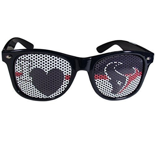 (NFL Houston Texans I Heart Game Day Shades, Navy Blue, Adult)