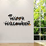 Tools & Hardware : 3D Halloween Wall Sticker Household Room Floor Mural Decor Decal Removable Wallpaper (TPE-2)