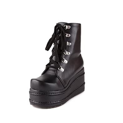 Womens Fashion Round-Toe Slip-Resistant Comfort Urethane Boots SXC01704