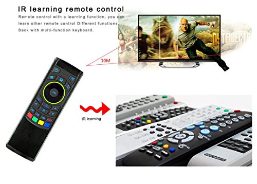GOTD 2.4G Remote Control Air Mouse Wireless Keyboard For XBMC Android Mini PC TV Box by Goodtrade8 (Image #6)