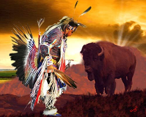 Native American Indian Poster Art 16