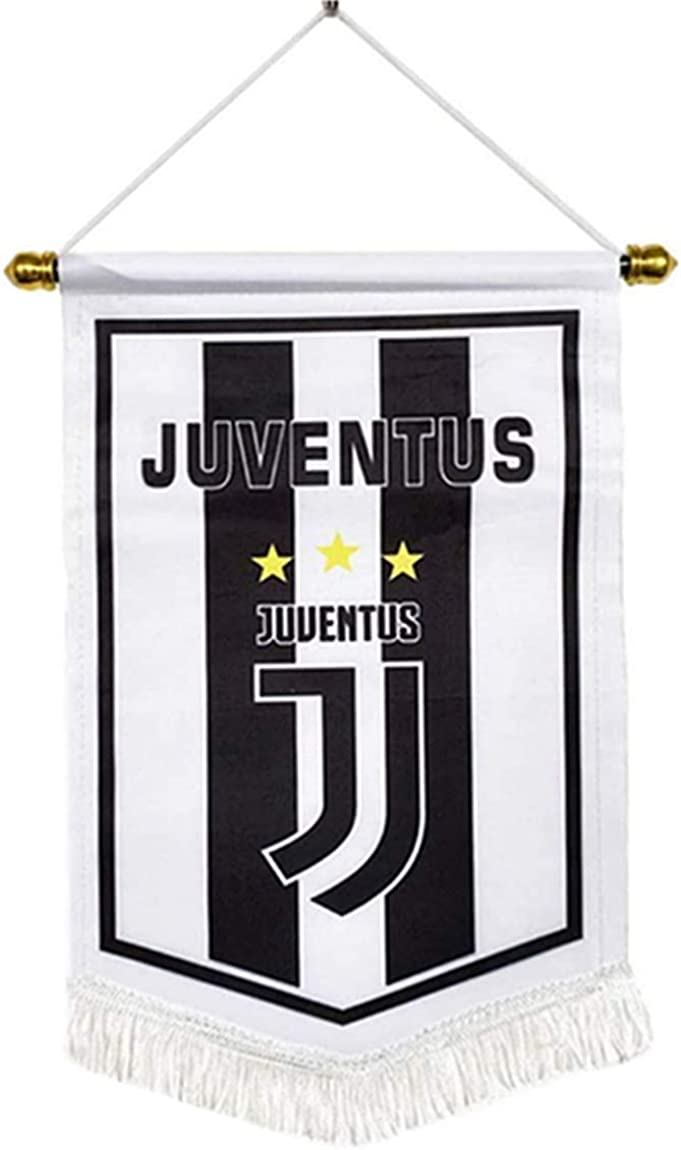 ERSSWUQMY Football Club Flag Double-Side Flags Bar//Bedroom//Decoration Hanging Flags