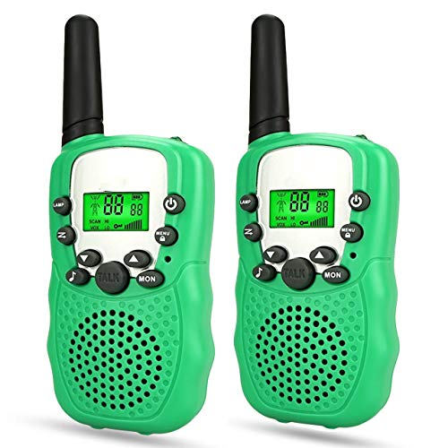 Toys for kids Age 3-12, WIKI Long Range Walkie Talkies for Kids Toys for 3-12 Year Old Girls Toys for 3-12 Year Old Boys 2018 Christmas New Gifts Stocking Suffer xmas Green WKUSDdd01