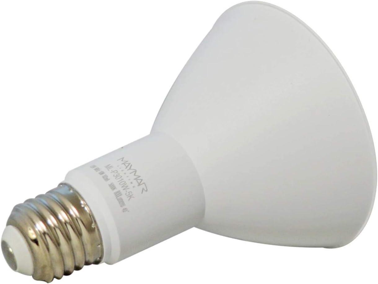 12 Pack Energy Star /& UL-Listed 5000K Cool White Bulb 7W Dimmable LED PAR20 Base Light Bulb 500lm 50W Eqv Recessed Light for Track Lighting