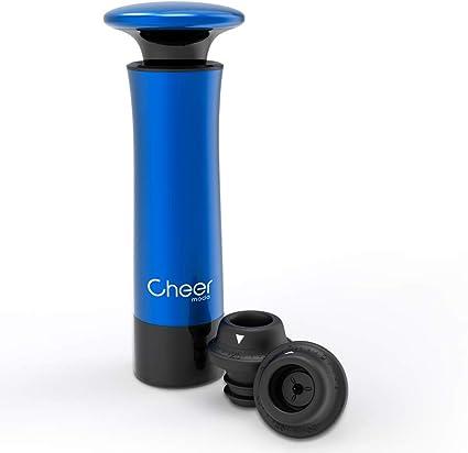 Reusable Wine Bottle Vacuum Saver Sealer Preserver Pump Suction 2 Stopper Set X