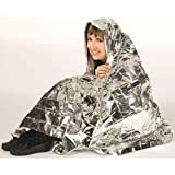 LUQUAN New Emergency Rescue Solar Thermal Space Mylar Blanket First Aid Rescue