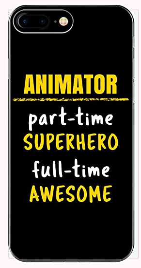 Amazon com: Animator Part Time Superhero Full Time Awesome