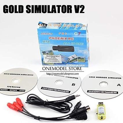 G7 // Fernbedienungssimulator RC G7 Phoenix RC Gold Simulator V2 XTR