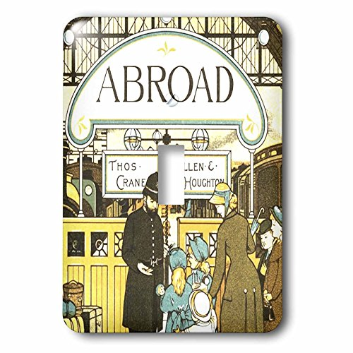 3D Rose lsp_35970_1 Vintage Travel Book for Children-Single Toggle Switch by 3dRose