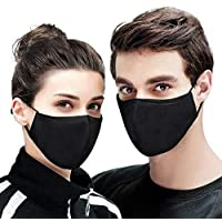 Forent 3-Ply Reusable Face Mask - Breathable Comfort, Fully Machine Washable, Face Masks for Home Office Work Outdoors…
