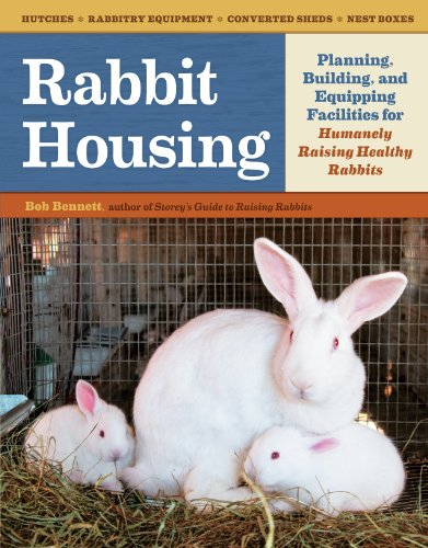 Rabbit Housing: Planning, Building, and Equipping Facilities for Humanely Raising Healthy Rabbits - Hutch Plan
